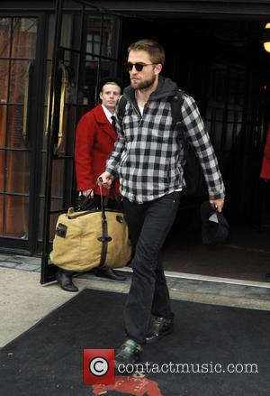Robert Pattinson - Robert Pattinson is seen leaving his downtown Manhattan hotel - New York City, New York , United...