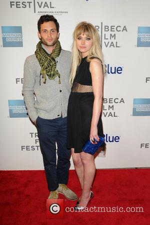Penn Badgley and Imogen Poots - 2013 Tribeca Film Festival- 'Greetings From Tim Buckley' Premiere - arrivals - New York...