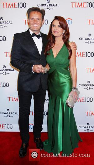 Roma Downey and Guest - TIME 100 Gala TIME'S 100 Most Influential People In The World at Jazz at Lincoln...