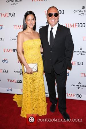 Olivia Munn and Michael Kors