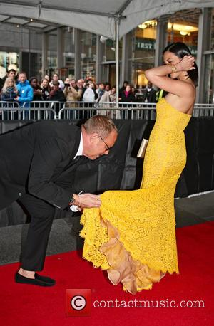 Olivia Munn and Michael Kors