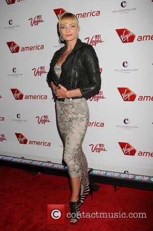 Jaime Pressly - Virgin America & Sir Richard Branson celebrate New flights with Star-Studded Launch Party at The Cosmopolitan of...