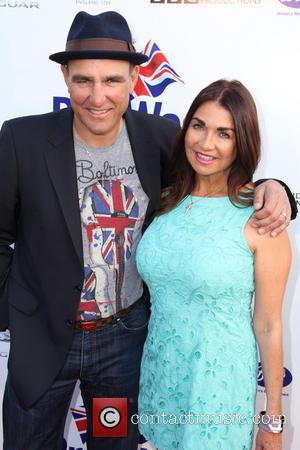 Vinnie Jones and Tayna Jones