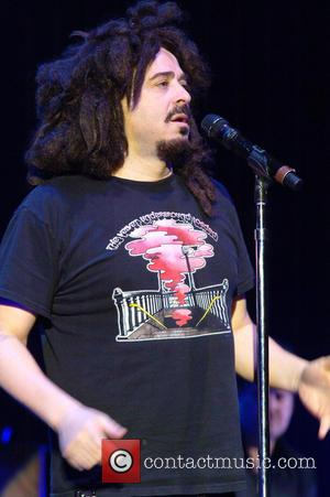 Adam Duritz - Counting Crowes performing live at the Hammersmith Apollo - London, United Kingdom - Tuesday 23rd April 2013