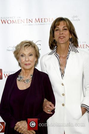Cloris Leachman and Wendie Malick - The Alliance for Women in Media SoCal's 56th Annual Genii Awards at the Skirball...