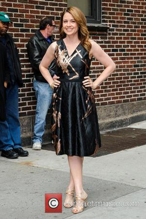 Jenna Fischer - Jenna Fischer at the Ed Sullivan Theater for 'The Late Show With David Letterman' - New York,...