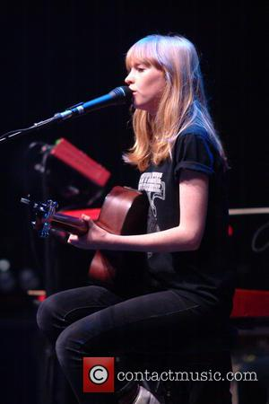 Lucy Rose - Lucy Rose performing live at the Hammersmith Apollo - London, West, United Kingdom - Tuesday 23rd April...