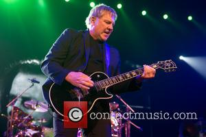Alex Lifeson - Rush performing at the Frank Erwin Center in Austin - Austin, Texas, United States - Tuesday 23rd...