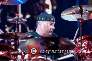 Neil Peart - Rush performing at the Frank Erwin Center in Austin - Austin, Texas, United States - Tuesday 23rd...