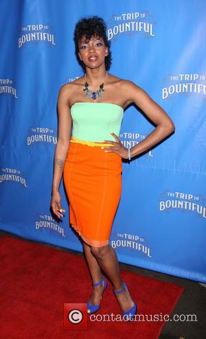 Condola Rashad - Broadway opening night of 'The Trip To Bountiful' held at the Copacabana nightclub - After Party -...