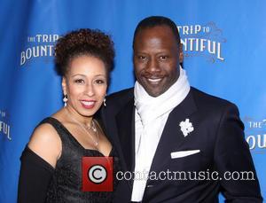 Tamara Tunie and Gregory Generet