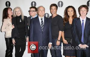 Lara Flynn Boyle, Penelope Spheeris, Mike Myers, Lorne Michaels, Rob Lowe, Tia Carrere and Dana Carvey
