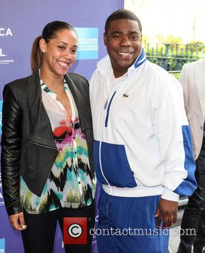 Tracy Morgan and Megan Wollover -   Maven is Morgan's fourth child - the 44 year old has three...