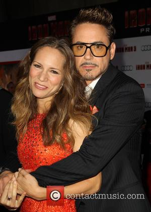 Robert Downey Jr and Susan Downey - 'Iron Man 3' Los Angeles premiere held at the El Capitan Theatre -...