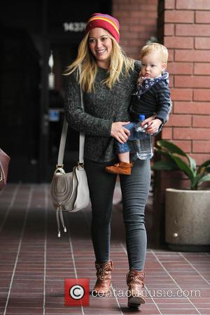 Hillary Duff and Luca