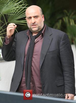 Omid Djalili - Celebrities seen leaving ITV Studios - London, United Kingdom - Wednesday 24th April 2013