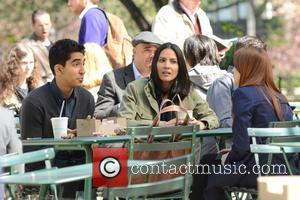 Olivia Munn and Dev Patel