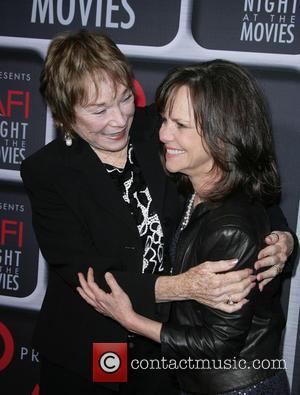 Shirley Maclaine and Sally Field
