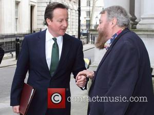 David Cameron and Brian Blessed