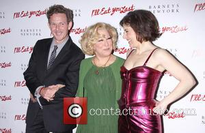John Logan, Bette Midler and Arielle Tepper Madover
