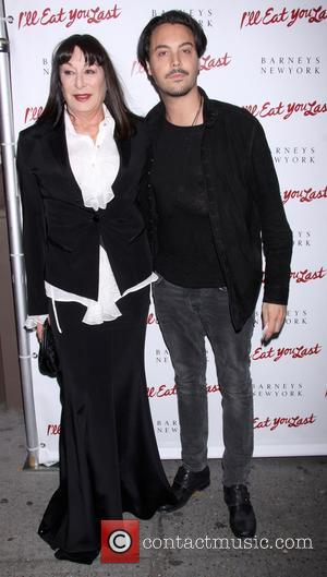Anjelica Huston and Jack Huston - Broadway opening night after party for 'I'll Eat You Last' held at the Booth...