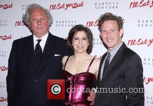 Arielle Tepper Madover, John Logan and Graydon Carter