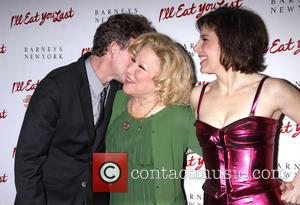 Bette Midler, Arielle Tepper Madover and John Logan