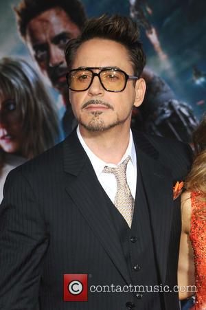 Robert Downey Jr. - 'Iron Man 3' Los Angeles premiere held...