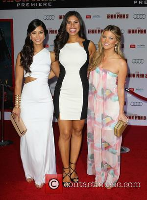 Manuela Arbelaez, Gwendolyn Osborne-Smith and Amber Lancaster - 'Iron Man 3' Los Angeles premiere held at the El Capitan Theatre...