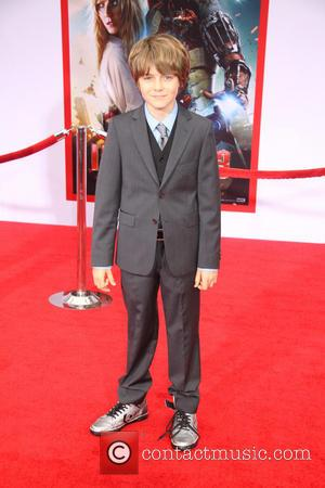 Ty Simpkins - 'Iron Man 3' Los Angeles premiere held at the El Capitan Theatre - Arrivals - Los Angeles,...