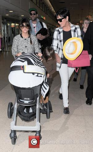 Kourtney Kardashian, Kris Jenner and Mason Disick