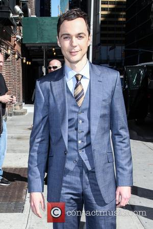 Jim Parsons - Celebrities at the Ed Sullivan Theater for 'The Late Show With David Letterman' - New York City,...