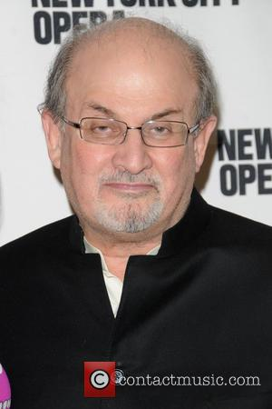 Salman Rushdie - 2013 New York City Opera Spring Gala - Red Carpet arrivals - Manhattan, NY, United States -...