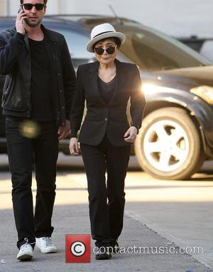 Yoko Ono - Yoko Ono seen out and about in the East Village after eating lunch at Gemma - New...