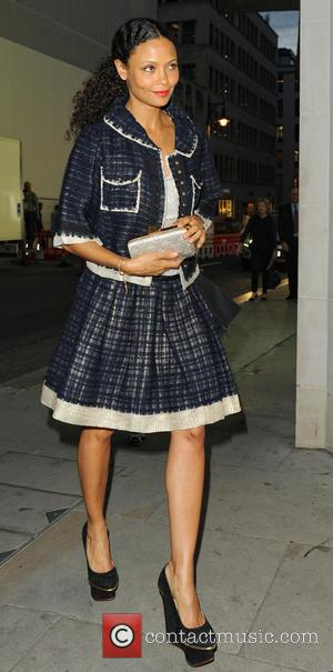 Thandie Newton - Alexandra Shulman and Louis Vuitton managing director Tom Meggle host private event celebrating the 'All Four Corners'...
