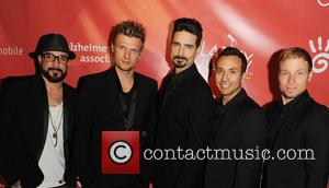 AJ McLean, Nick Carter, Kevin Richardson, Howie Dorough, Brien Littrell and Backstreet Boys - Hilarity For Charity Benefiting The Alzheimer's...