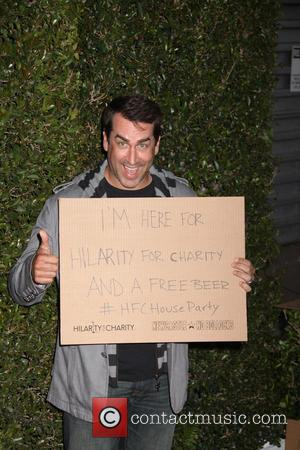 Rob Riggle - Hilarity For Charity Benefiting The Alzheimer's Association - Los Angeles, CA, United States - Thursday 25th April...