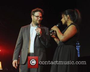 Seth Rogen and Mindy Kaling