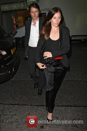 Brett Anderson and Jodi Anderson - Celebrities at the Louis Vuitton party on New Bond Street - London, United Kingdom...