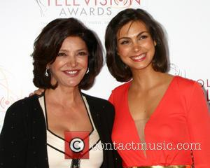 Shohreh Aghdashloo and Morena Baccarin - 34th College Television Awards Gala at JW Marriott Los Angeles at L.A. LIVE -...