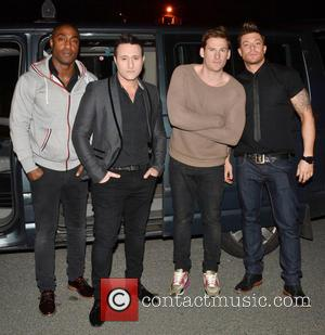 Simon James, Antony Costa, Lee Ryan, Duncan James and Blue
