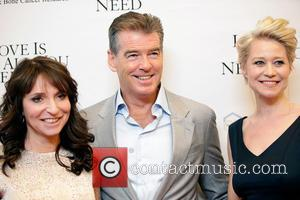 Susanne Bier, Pierce Brosnan and Trine Dyrholm - Los Angeles premiere of 'Love Is All You Need' at The Linwood...