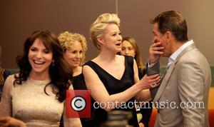 Susanne Bier, Trine Dyrholm and Pierce Brosnan