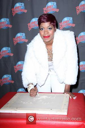 Fantasia Barrino - Fantasia Barrino promotes her new album 'Side Effects of You' with a hand print ceremony at Planet...