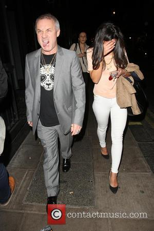 Damien Hirst - Celebrities at The Groucho Club - London, United Kingdom - Friday 26th April 2013
