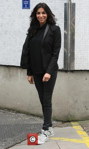 Shobna Gulati - Celebrities outside the ITV Studios - London, United Kingdom - Friday 26th April 2013
