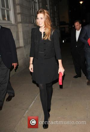 Princess Beatrice - Princess Beatrice at Loulou's club - London, United Kingdom - Friday 26th April 2013