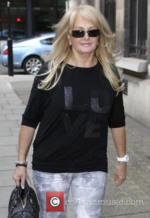 Bonnie Tyler - Celebrities at the BBC Radio 2 studios - London, United Kingdom - Friday 26th April 2013