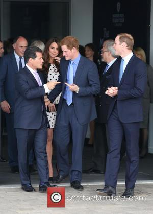 Prince Harry, Prince William, Duke Of Cambridge, Catherine Duchess Of Cambridge and Kate Middleton