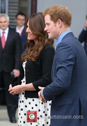 Prince Harry, Catherine, Duchess Of Cambridge and Kate Middleton